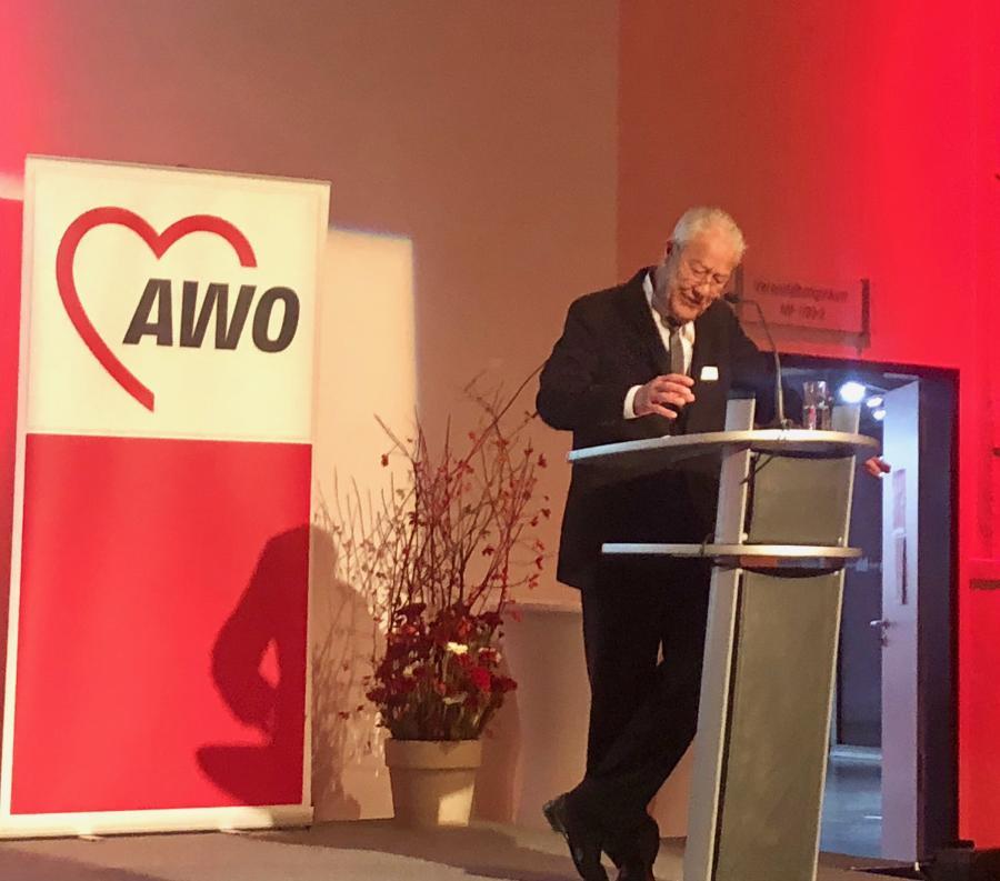 Vorschaubild der Meldung: Festakt und Landeskonferenz der AWO - Ostholstein dabei.