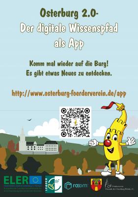 QR Code für Osterburg 2.0 App