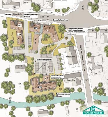 Foto zur Meldung: Erste Pläne fürs Gesundheitszentrum