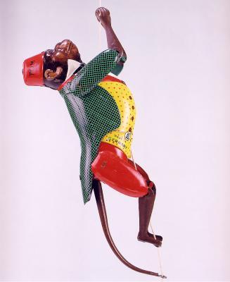 Vorschaubild zur Meldung: Der Kletteraffe Tom – Spielzeug aus der Stadt Brandenburg