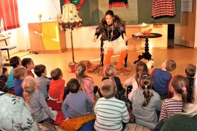 Foto zur Meldung: Vorschule mit Theaterspaß