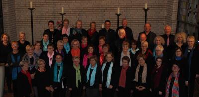 Chorauftritt in der St. Johannis-Kirche Rodenberg