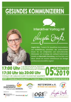 """Foto zur Meldung: """"Gesundes Kommunizieren"""" - Interaktiver Vortrag mit Angela Dietz"""