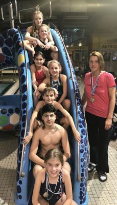 Die erfolgreichen Schwimmer des SCS