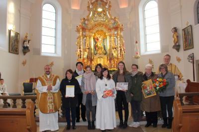 Foto zur Meldung: Christkönigssonntag – Gottesdienst zu Ehren der Hl. Cäcilie