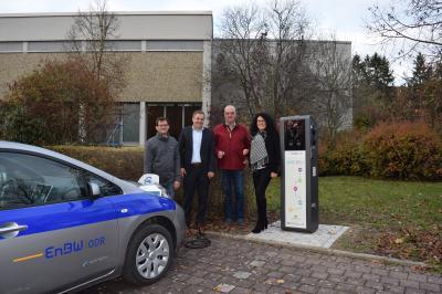 Vorschaubild zur Meldung: E-mobil unterwegs in Bühlertann - Pressemitteilung der EnBW/ODR