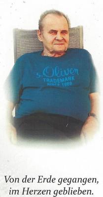 Vorschaubild zur Meldung: Ernst Melzner, ein beliebter Prackenbacher gab sein Leben mit 79 Jahren an seinen Schöpfer zurück, seinen Lieben war er ein fleißiger und liebenswerter Familienvater