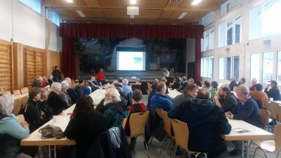 Gute Resonanz beim Workshop in der Wiedner Gemeindehalle