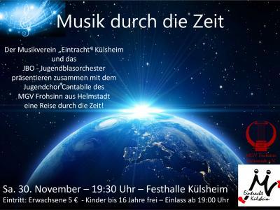 Foto zur Meldung: Konzert des MV Külsheim mit unserem Jugenchor Cantabile