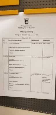 Foto zur Meldung: Klasse 7 im Amtsgericht Ulm