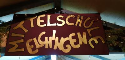 Foto zur Meldung: Mittelschule Elchingen bei der Thalfinger Dorfweihnacht