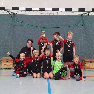 Das Siegerteam in Wüsting
