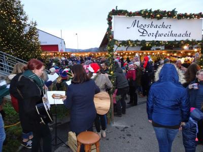 Vorschaubild zur Meldung: Der Moosbacher Weihnachtsmarkt war wieder Spitze – Weit mehr Besucher als im letzten Jahr