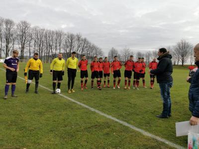 Vorschaubild zur Meldung: 0:1-Derbyniederlage gegen Kemnitz zum Hinrundenabschluss.