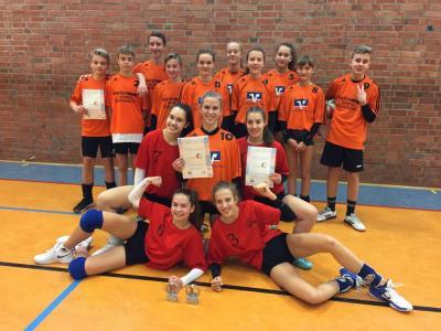 """Vorschaubild zur Meldung: Saldrianer räumen beim Kreisfinale """"Jugend trainiert für Olympia- Volleyball"""" ab"""