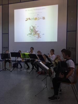Die Stegauracher Musikanten der Landkreismusikschule
