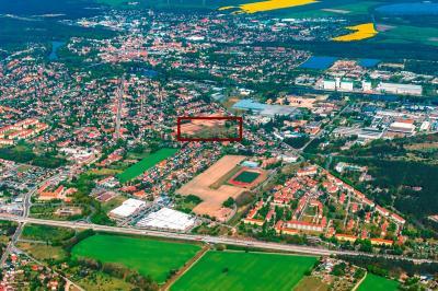 Lage der Baugrundstücke im Stadtgebiet