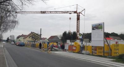 Foto zu Meldung: Grundstein für neue Rettungswache in Oppelhain gelegt