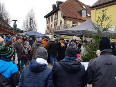 Vorschaubild zur Meldung: 29. Poppenhausener Weihnachtsmarkt auf dem Marktplatz
