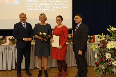 Foto zur Meldung: Auszeichnungen Meridian der Stadt Görlitz und Ehrenamt im Sport