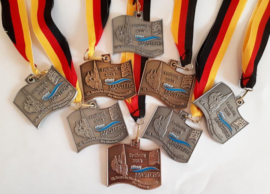 Bild der Meldung: Deutschen Kurzbahnmeisterschaften der Masters 29.11.–1.12.19 in Freiburg