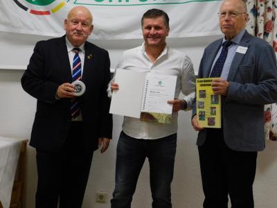 Markus Lutz wurde mit dem DFB-Ehrenamtspreis ausgezeichnet
