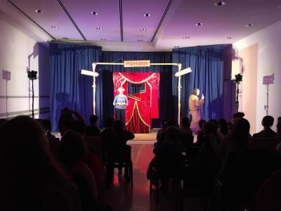 Vorschaubild zur Meldung: Besuch des Puppentheaters