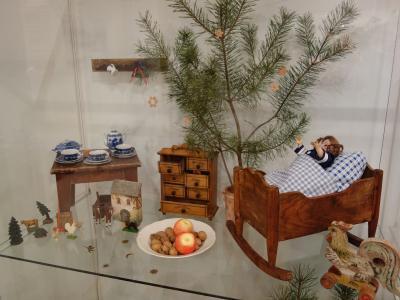 Blick in die Weihnachtsausstellung