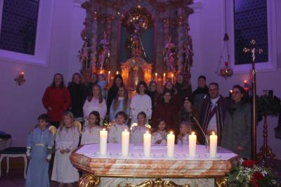 Foto zur Meldung: Lichtergottesdienst im Advent