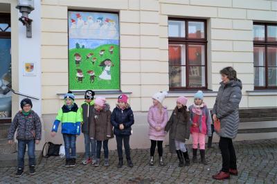 Foto zu Meldung: 10. Adventsbild: Grundschule Dargun