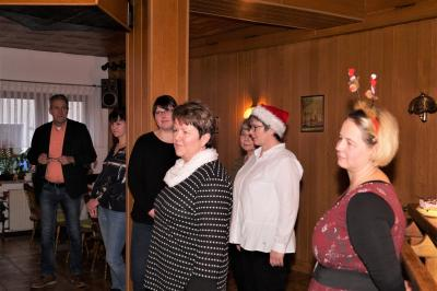 Foto zur Meldung: Patientenweihnachtsfeier 2019