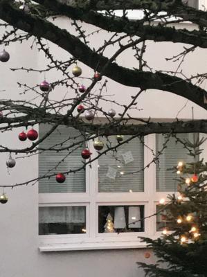 Vorschaubild zur Meldung: Heimliche Wünsche auf bunten Weihnachtskugeln...