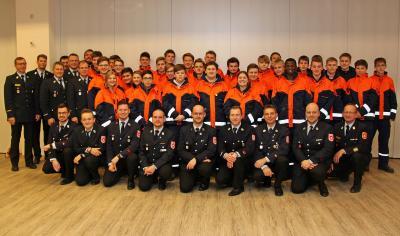 Foto zur Meldung: Wissenstest der Rosenheimer Jugendfeuerwehr