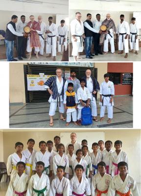 Foto zur Meldung: Karate-Kurztrip nach Chennai (ehem. Madras) / Indien