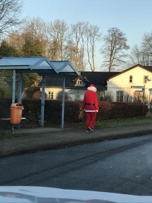 Foto zur Meldung: Der Weihnachtsmann ist schon in Schafflund