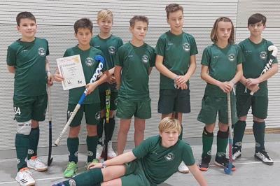 Foto zur Meldung: Landespokal der Knaben B in der Halle 2019