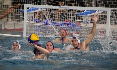 Foto zur Meldung: Wasserball Oberliga 1. Spieltag