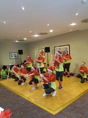 Vorschaubild zur Meldung: Auftritt der Tanzgruppe