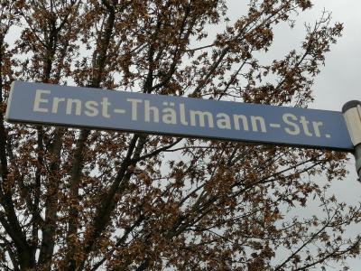 Foto zur Meldung: Straßen-Umbenennung