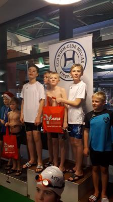 Foto zur Meldung: MTV-Schwimmer zum Jahresabschluss in Einbeck