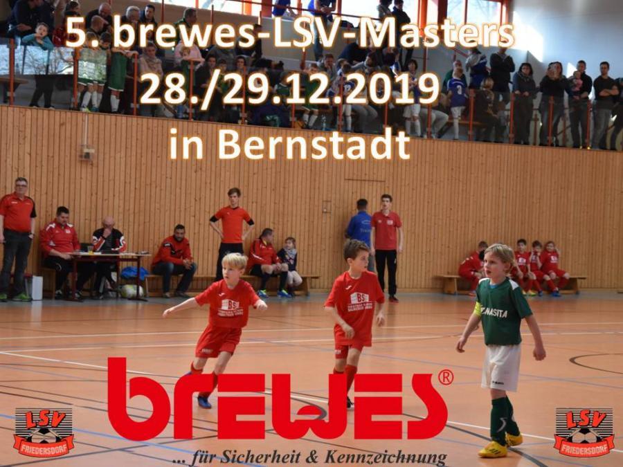 Vorschaubild der Meldung: 5. brewes LSV-Masters am 28. und 29. Dezember 2019