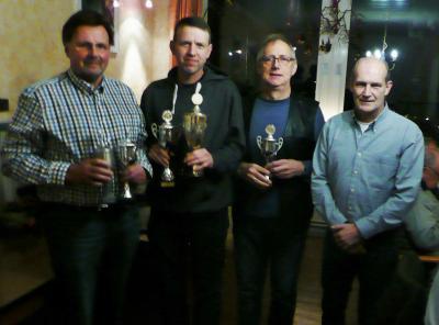 Frank Radloff, Jörn Saggau, Kai-Uwe Jensen, Lutz Wichmann - Foto Helmut Siebke