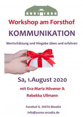 Vorschaubild zur Meldung: Neuer Workshop am 1.August