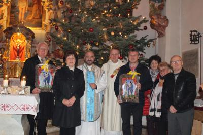 Foto zur Meldung: Feierlicher Gottesdienst zum Jahresschluss in der Pfarrkirche St. Johannes