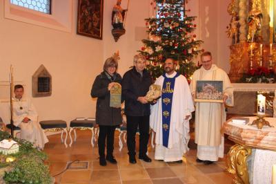 Foto zur Meldung: Feierlicher Gottesdienst zum Jahresschluss in der Pfarrkirche St. Georg