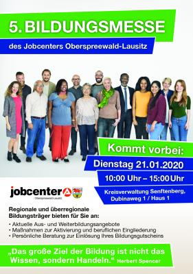 5. Bildungsmesse des Jobcenters Oberspreewald-Lausitz