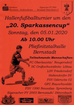Vorschaubild zur Meldung: Hallenkreismeisterschaften & Sparkassencup