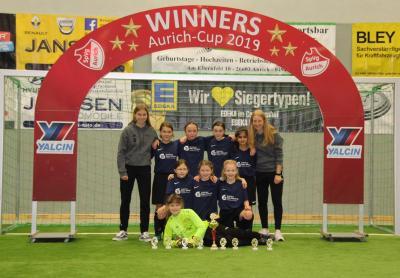 Das Siegerteam vom GVO