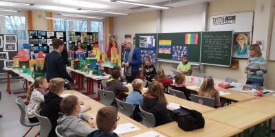 Vorschaubild zur Meldung: 1. Schnupperunterricht an der Gemeinschaftsschule Harzgerode