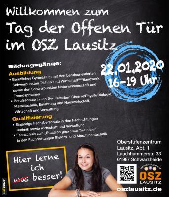 Tag der offenen Tür am Oberstufenzentrum Lausitz am 22. Januar 2020